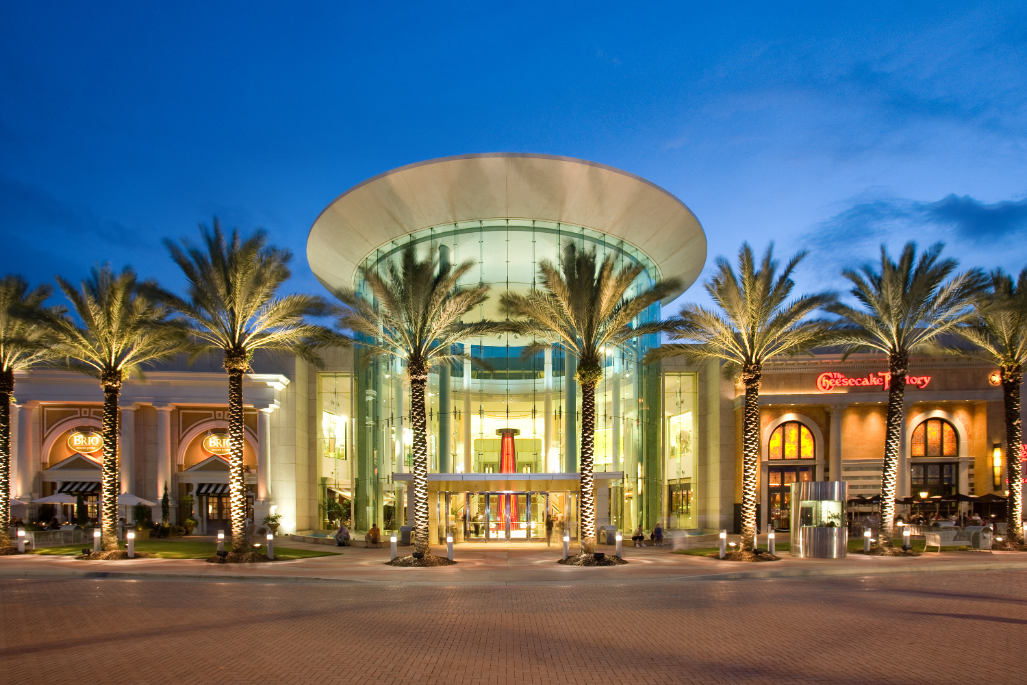 The Mall at Millenia is the centerpiece of a 5 million square foot development centrally located just one mile north of the intersection of I-4 (the Orlando metro area's major north/south arterial) and .